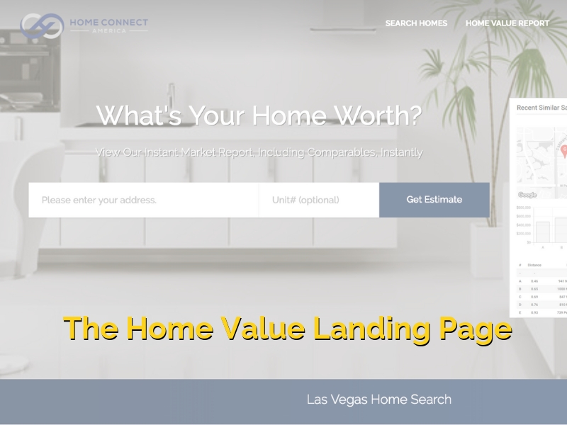 The Home Value Landing Page