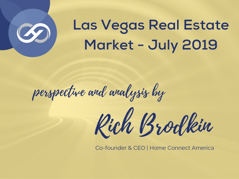 Las Vegas Real Estate Market – July 2019
