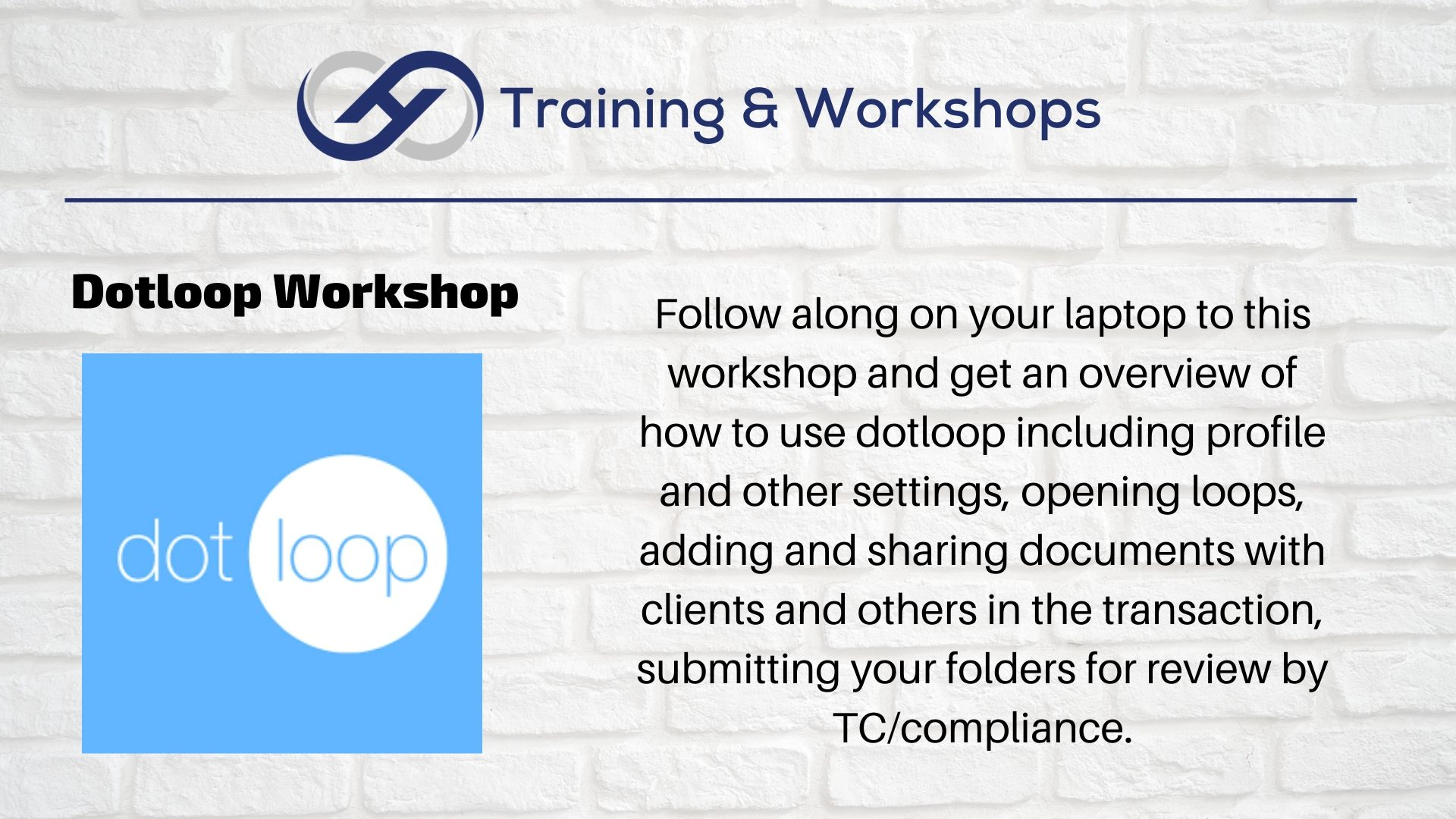 dot loop Workshop
