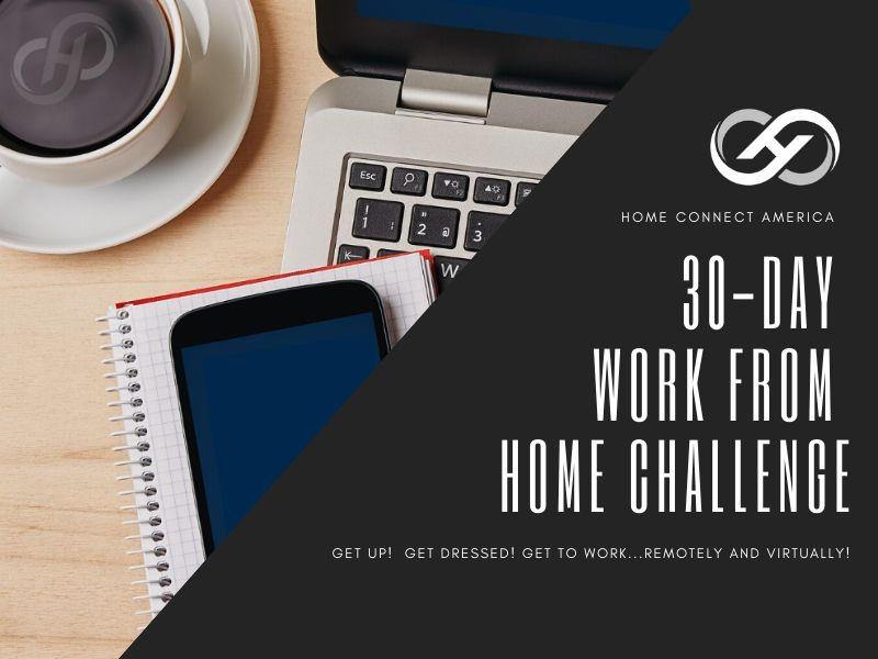 Sneak Peek Into the 30-Day Work from Home Challenge