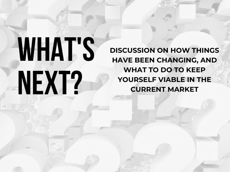 Now What? The Conversation on the Current Market Continues