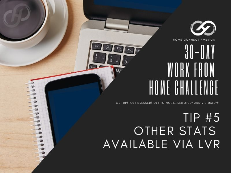Tip #5 | Other Stats Available via LVR