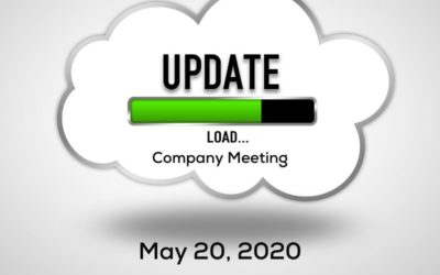 Update ~ May 20, 2020